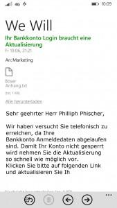 Mobile Phishing Attack